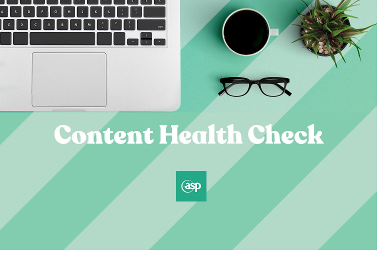 Free web health check from ASP